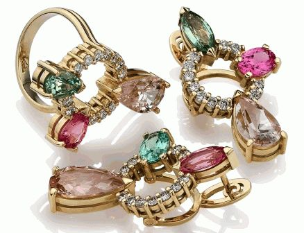 Pisces birthstone gems and jewelry