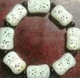 white jadeite beads