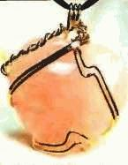 rose quartz amulet, price $89