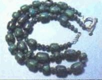 azurite malachite beads