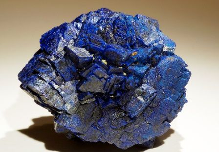 Azurite gemstone: meaning, properties, uses, power, jewelry, photo