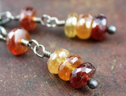 Hessonite jewelry