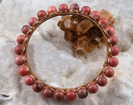 Rhodonite jewelry