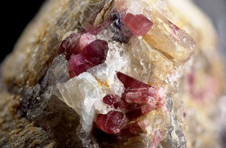 Rubellite gemstone: meaning, properties, uses, power, jewelry, photo