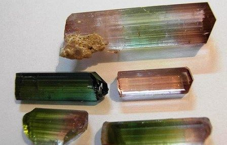 Tourmaline gemstone: meaning, properties, uses, power, jewelry, photo