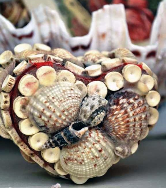 DIY Valentine Day gift – Victorians sea shell boxes &frames