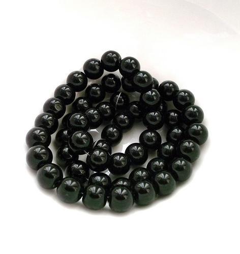 Black color - black gemstones