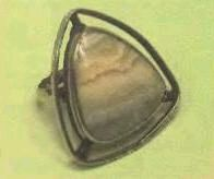 grey agate ring, price $5