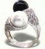 diamonds and pearls ring, price $1395