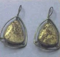 jasper earrings, price $18