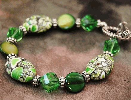 Green color gemstones meaning and names