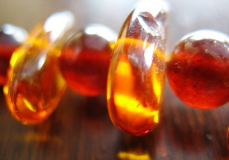 Amber gemstone: meaning, properties, uses, power, jewelry, photo